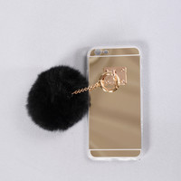On The Ball Phone Case - Black
