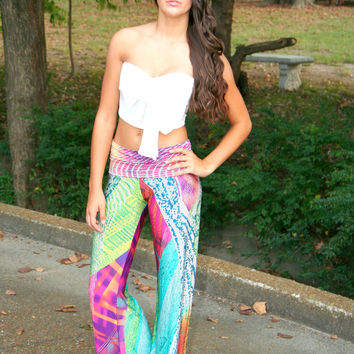 Rainbow Bright Yoga Pants