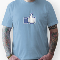 Facebook Thumb Unisex T-Shirt