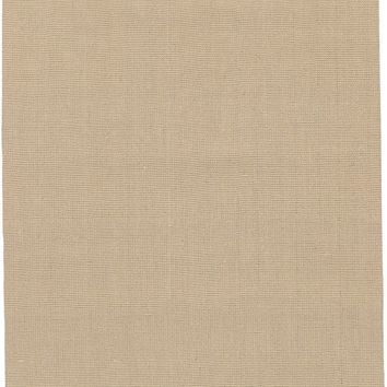 Jute Woven Natural Fibers Area Rug Neutral