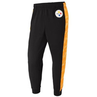 Pittsburgh Steelers Official NFL Mens Printed Poly Insert Camo Stripe Jogger Pants