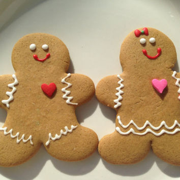 Gingerbread Man Cookies - Gingerbread Cookies