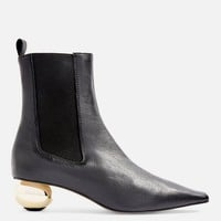 Sculptured Heel Ankle Boots | Topshop
