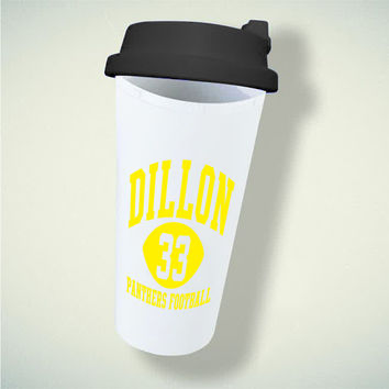Dillon Panthers 33 blue For Double Wall Plastic Mug ***
