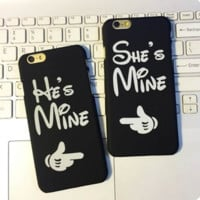 Fashion couple Case Cover for Apple iPhone 5s 5 SE 6 6S 6 Plus 6S Plus 04D160919_002