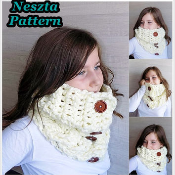 Shop Cowl Scarf Crochet Pattern On Wanelo