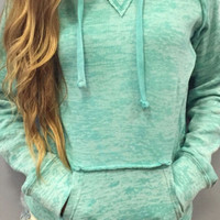 Long Sleeve Hoodie Pocket Pullover Shirt