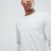 Noak T-Shirt In Relaxed Fit With Long Sleeves at asos.com