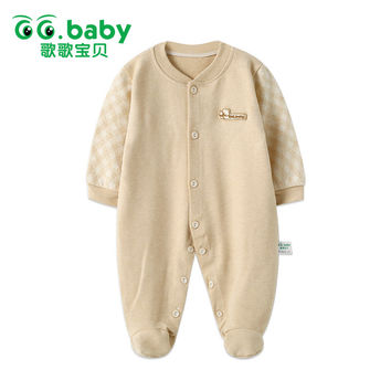 0-9 Months Newborn Jumpsuit Long Sleeve Cotton Romper Clothes Baby Jumpsuit For Babies Unisex Animal Infant Boy Girl Clothing