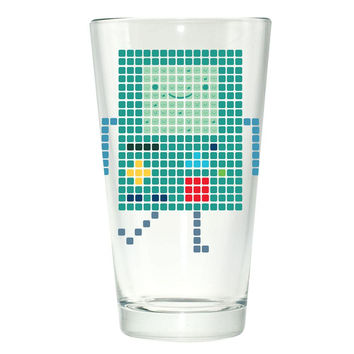 Adventure Time - BMO Pint Glass