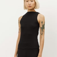 Totokaelo - David Michael Black Rib Helix Top - $120.00