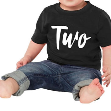 Two Birthday Shirt. 2nd Birthday Shirt. Two Birthday Outfit. Two Year Old Shirt. Second Birthday Shirt. 2nd Birthday Tee. Two Birthday Gift
