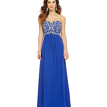 Royal Blue Prom Dresses Dillards Photo Album - Reikian