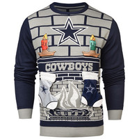 Dallas Cowboys   Official NFL Ugly 3d Holiday Sweater