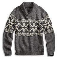 Lucky Brand Shawl Pullover Mens - Multicolor