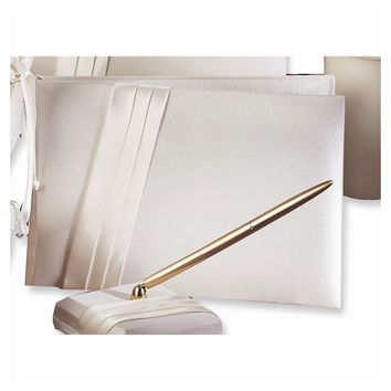 Audrey Satin Guest Book - Perfect Wedding Gift