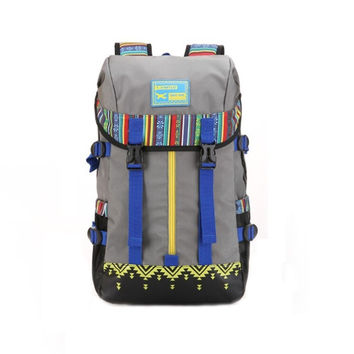 Ethnic Large Hiking Camping Backpack Travel Bag Daypack