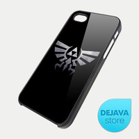 Eagle Triforce Silver Legend of Zelda iPhone 5 Case