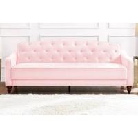 Novogratz Vintage Tufted Sofa Sleeper II, Multiple Colors - Walmart.com