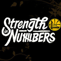 2 Color Custom Strength in numbers Golden State Warriors Decal Dubnation GSW