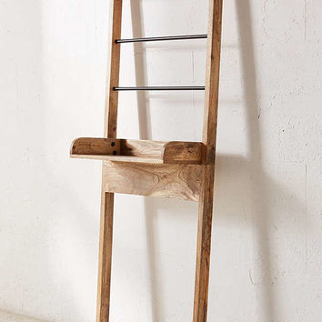Bronte Bathroom Leaning Ladder Storage | Urban Outfitters