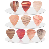 10pcs Newest Wood grain Guitar Picks Thickness 0.71mm guitar strap guitar stringsThickness 0.46mm Thickness 1.00mm