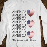 America, The Home of the Brave - The Kay Designs