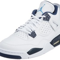 Nike Men's Air Jordan 4 Retro LS Legend Leather And Synthetic Basketball Shoes