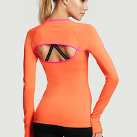 Seamless Long Sleeve Tee - Victoria's Secret Sport - Victoria's Secret