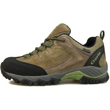 Clorts Tourist Boots Hiking Shoes for Men Women Breathable Anti-bacterial Insole Trekking Sneakers HKL-806