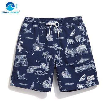 Men Beach Board Swimming Trunks