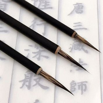 Ink Brush Pen for Watercolor Painting Chinese Drawing Badger Hair Art Craft  chinese Calligraphy