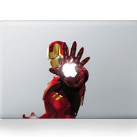 Iron man  Macbook decals Mac decal Macbook pro by happydecals