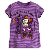 Minnie Mouse Halloween Tee for Girls | Disney Store