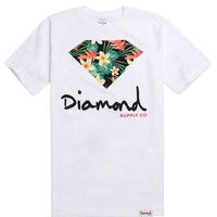 Diamond Supply Co Maui Script Logo T-Shirt - Mens Tee