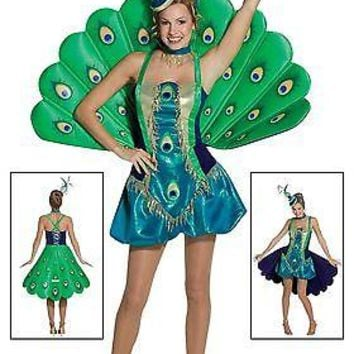 Adult Womens Peacock Costume