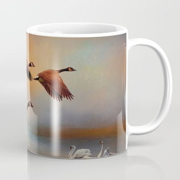 All Things Bright And Beautiful Mug by Theresa Campbell D'August Art