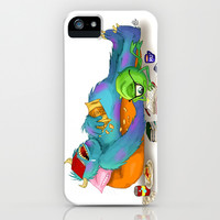 Monsters University iPhone & iPod Case by Lauren Draghetti