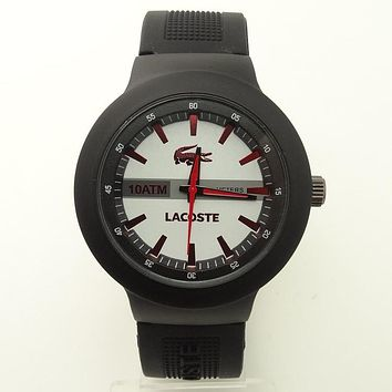 Lacoste color reflective watch F-SBHY-WSL Red crocodile pattern