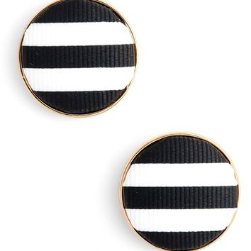 kate spade set sail button stud earrings | Nordstrom