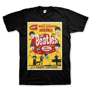 The Beatles   Chart Toppers T-Shirt
