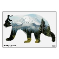 Mountain Portrait Room Decals from Zazzle.com