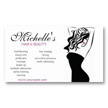 Shop beauty salon business cards on wanelo hair beauty salon business card design from zazzle colourmoves