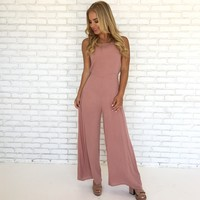 All About You Jumpsuit in Pink