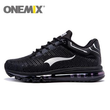 2017 onemix men's running shoes lightweight air cushion new sneakers for men sports jogging shoes trainers