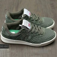 """New Balance"" Fashion Casual All-match N Words Breathable Couple Sneakers Shoes Army green G-A0-HXYDXPF"