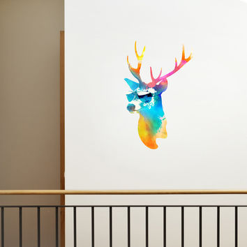 I liked this design on #Fab. Sunny Deer Decal