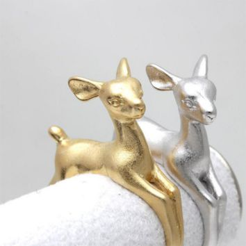 Daisy the Baby Deer Ring