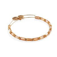 Topaz Starlit Canvas Beaded Bangle