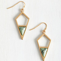 Boho That's a Good Point Earrings by ModCloth